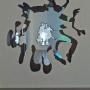 Dan Colen - silhouette Wall Cuts, 2013
