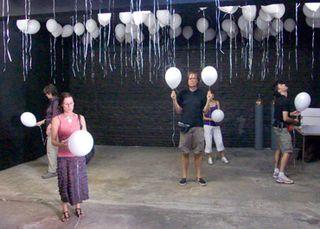 Poëzie op ballonnen