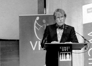 Vincent Mentzel in de Kunsthal