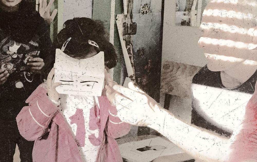 Réunion avec les écoles - le viewer cardboard