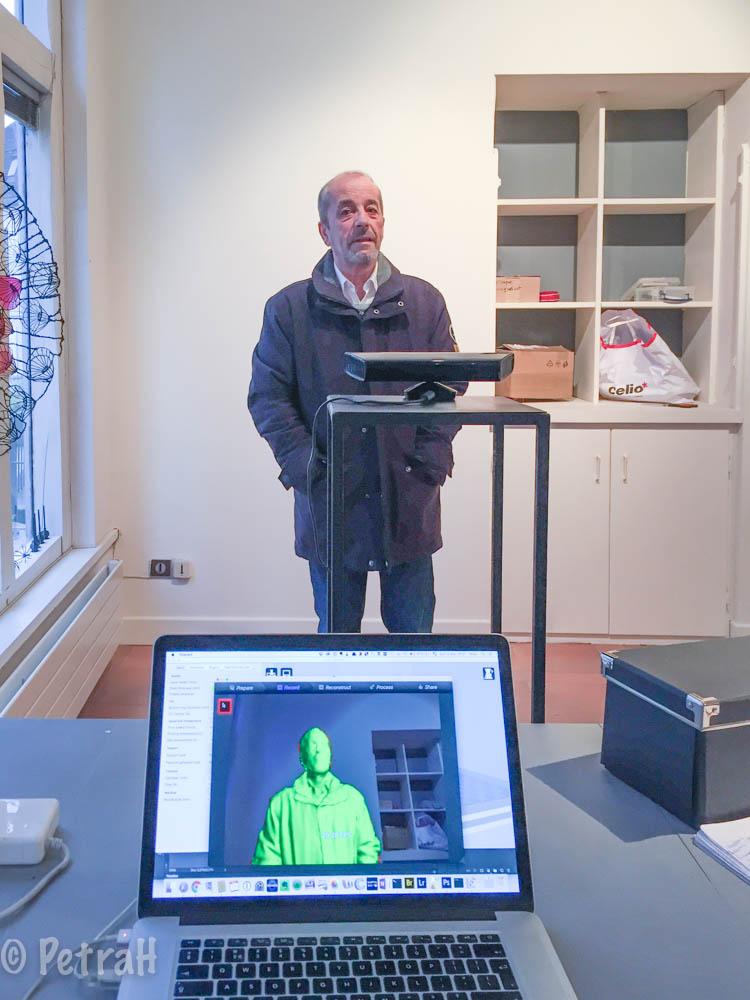 Jean-Paul. Laboratoire numérique Auxerre - Finissage