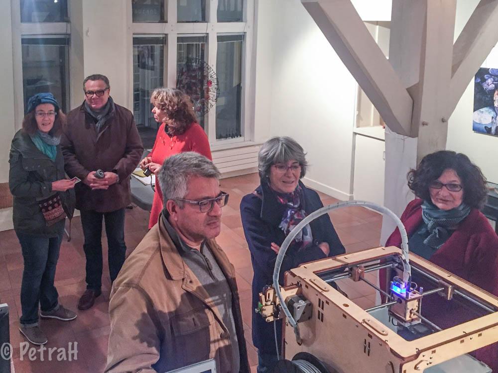 Laboratoire numérique Auxerre - Finissage