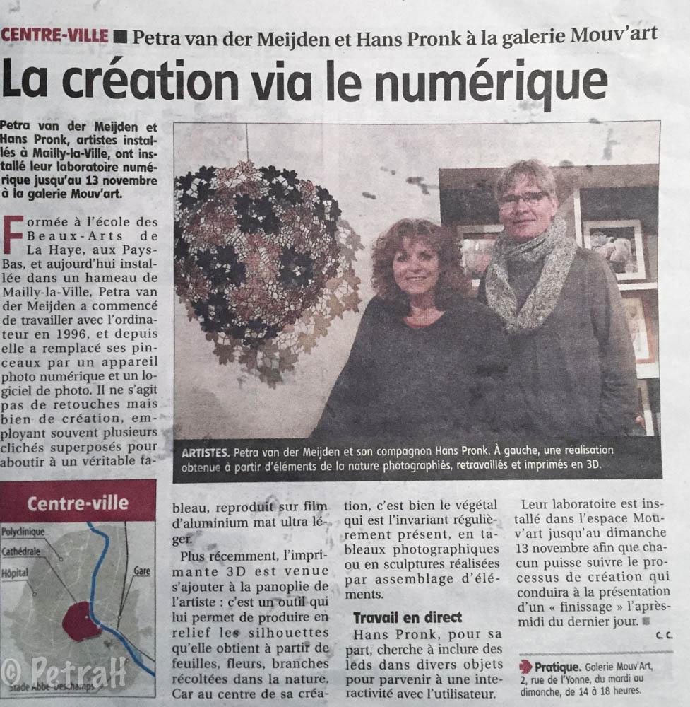 l'Yonne Républicaine 2-11-2016